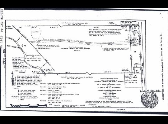 Lombard Survey Map - Trombley